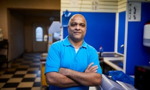 Zohar Mahaldar, a fishmonger in Bastwell, Blackburn