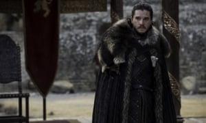 Kit Harington in Game of Thrones.
