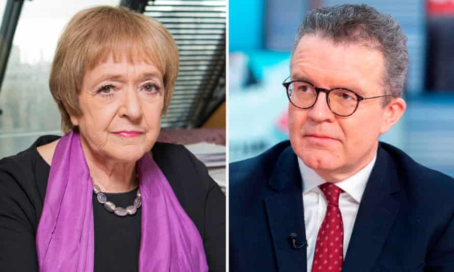 Tom Watson, right, has criticised a vote to make Margaret Hodge, left, face reselection