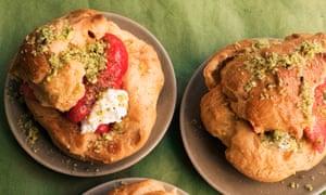 Sweet on you: strawberry ricotta puffs.