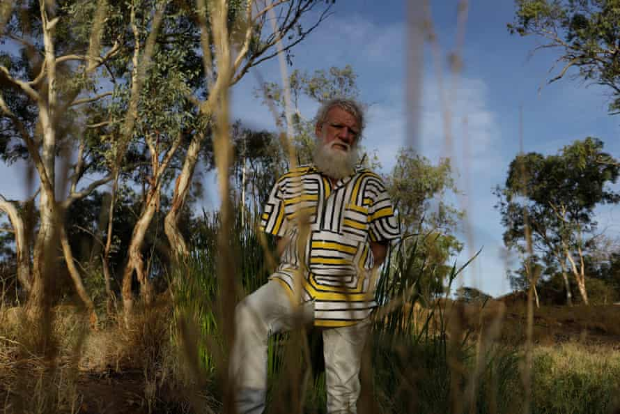 Bruce Pascoe, photographed by Vicky Shukuroglou in Alice Springs