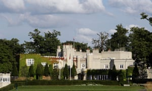 The clubhouse at Wentworth