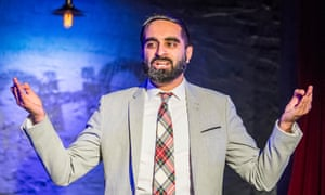 'The writing on religion is often lazy' … Tez Ilyas performs Made In Britain at the Soho theatre, London, in March.