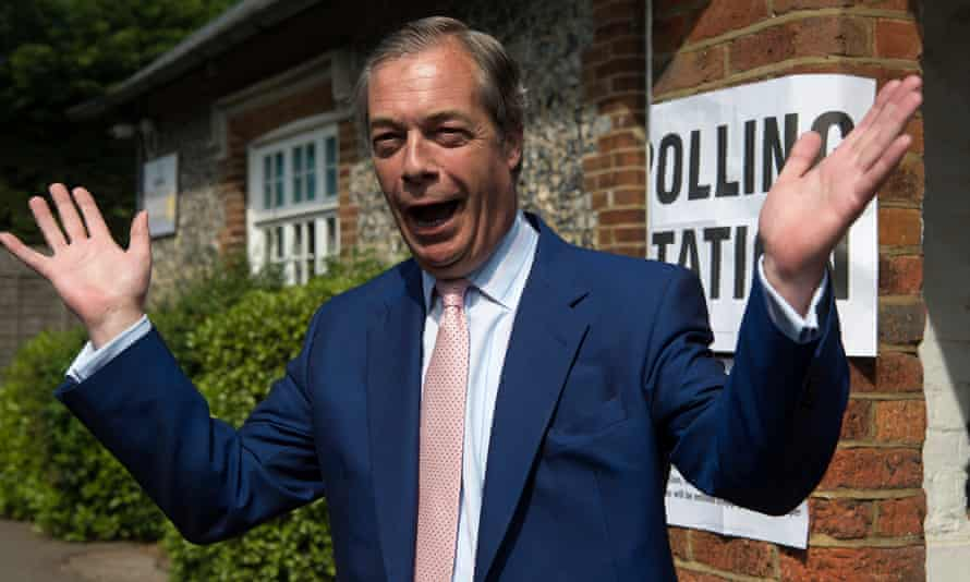 European Parliament electionBrexit Party leader Nigel Farage arrives to cast his vote for the European Parliament elections at a polling station at the Cudham Church of England Primary School in Biggin Hill, Kent. PRESS ASSOCIATION Photo. Picture date: Thursday May 23, 2019. See PA story POLITICS Election. Photo credit should read: Kirsty O'Connor/PA Wire