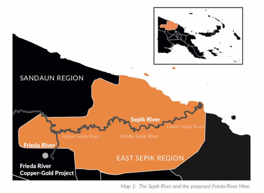 There are concerns a gold and copper mining project in the Sepik region in Papua New Guinea could cause environmental damage to a remote wilderness area and important river system.