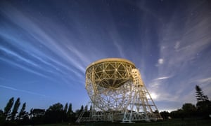 The Lovell telescope at the Jodrell Bank Observatory