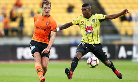 A-League: late Maclaren goal sees Brisbane Roar win in Wellington