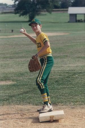 Charlie Roberts as a boy.