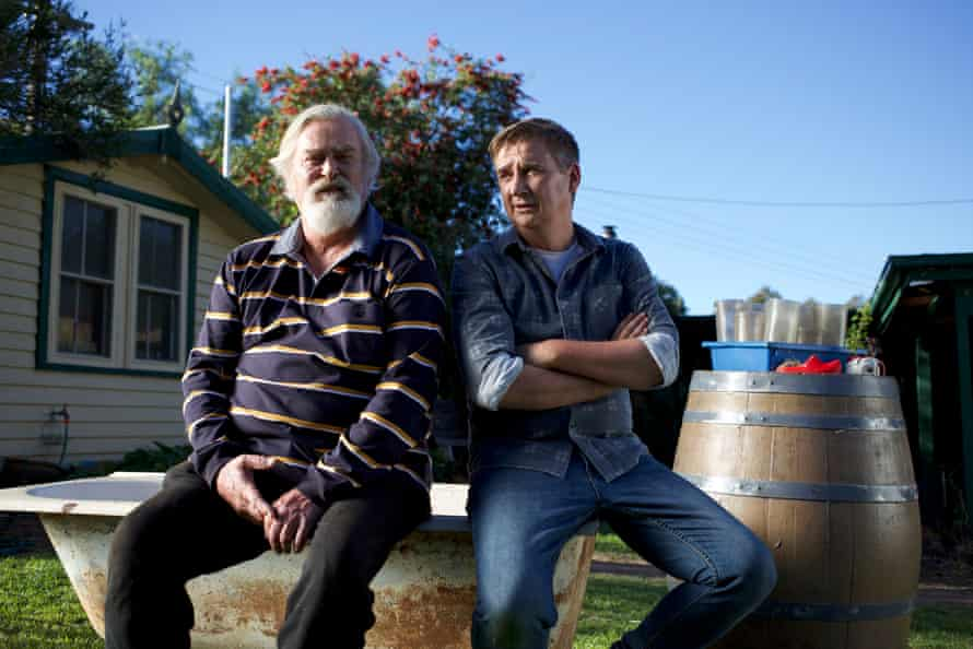 John Howard and Damian Callinan in The Merger