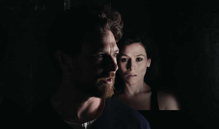 Yael Stone and Dan Spielman in a promo shot from Belvoir's 2016 production of the Blind Giant Is Dancing