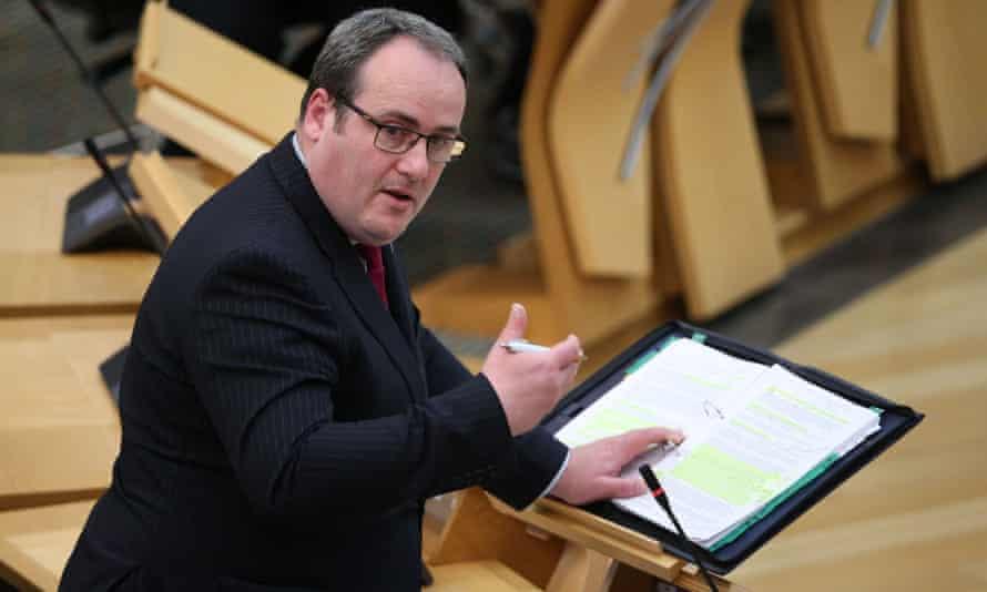 Scotland's former energy minister Paul Wheelhouse