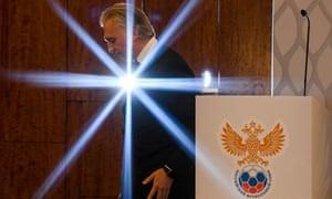 The stars align for new RFU president Alexander Dyukov.