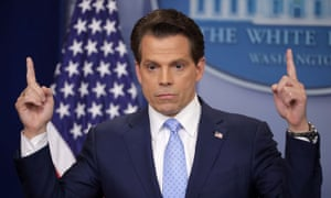 Anthony Scaramucci. In Trump, the Blue-Collar President, he writes: 'From my current vantage point, I might be in a better place to help the president than when I was on the inside.'