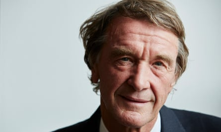 Sir Jim Ratcliffe in manchester in 2015