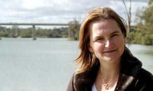 A photo of Cornelia Rau in Mildura for a writer's conference in 2005.