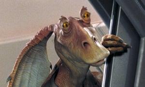 Jar Jar Binks from Star Wars: The Phantom Menace, 199.