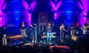Ovation for a Gig at Union Chapel, London