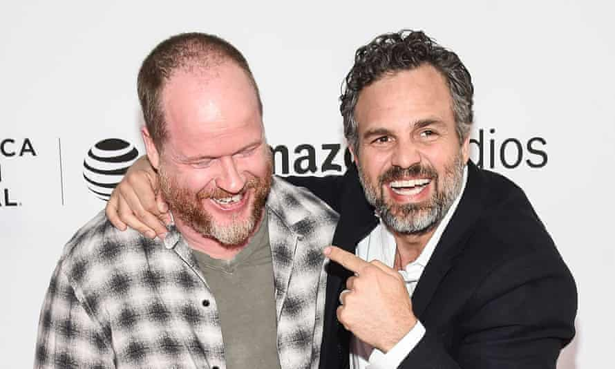 Joss Whedon (left) and Mark Ruffalo: palling around at Tribeca