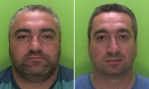 Erwin and Krystian Markowski have been jailed at Nottingham crown court after after trafficking people from Poland and sending them to work at Sports Direct.