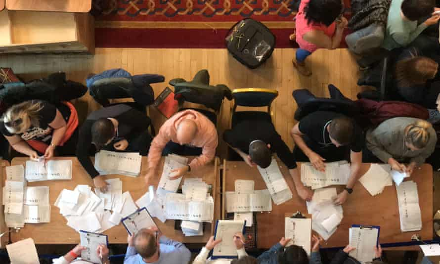 Local election vote counting