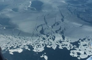 Such thin ice now could see record low summertime sea-ice conditions in the Arctic next September.