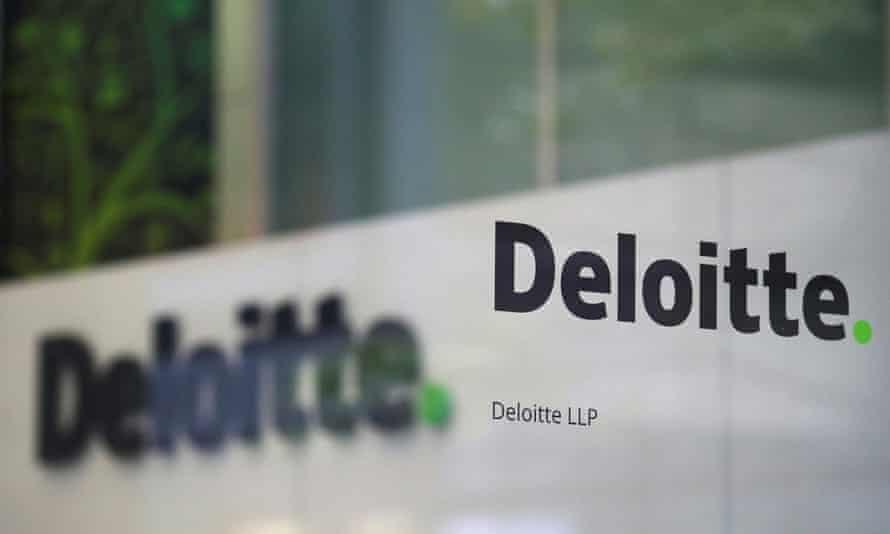 Deloitte's offices in London