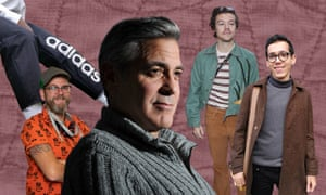 Self-sewn Adidas trouser, Great British Sewing Bee's Pete Cant, George Clooney, Harry Styles in Bode and Mehedi Sarri.