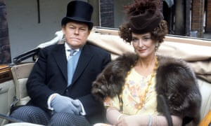 Timothy West and Caroline Blakiston in Brass, 1983.