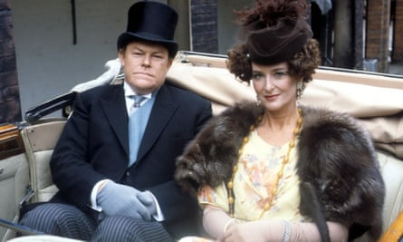 Timothy West and Caroline Blakiston in Brass, 1983.