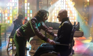 James McAvoy and Patrick Stewart in X-Men: Days of Future Past.