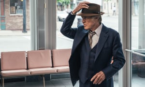 Impeccably courteous … Robert Redford in The Old Man & the Gun.