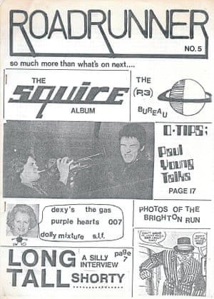 Roadrunner edited by Steve Whiffen in Kent, 1980-1981 featuring mod band Squire.