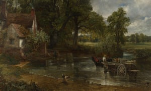 Pastoral perfection … The Hay Wain (1821) by Constable