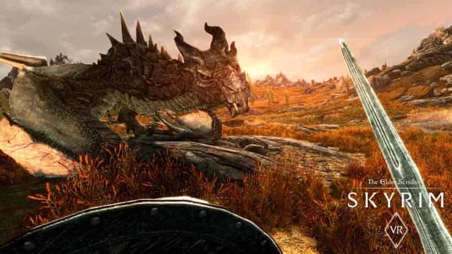 The Elder Scrolls V: Skyrim dragon
