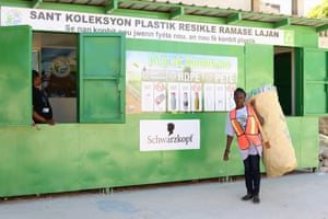 Paid for plastic: how a new recycling model creates cash for