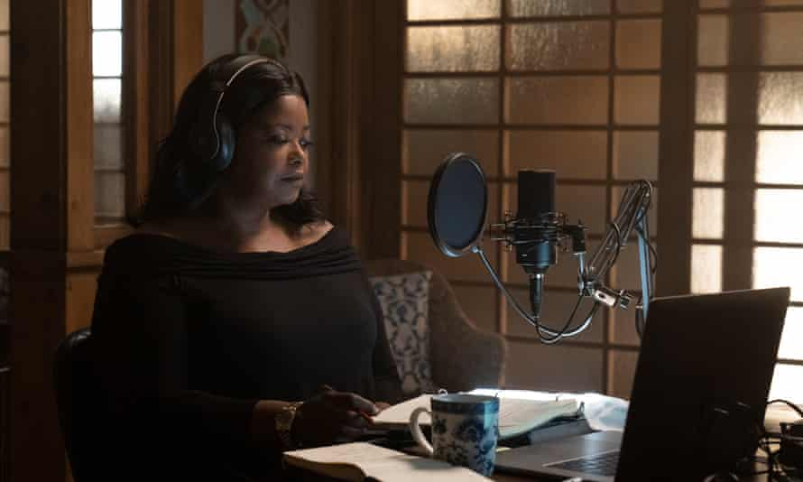 You can feel her longing to get going … Octavia Spencer in Truth Be Told.