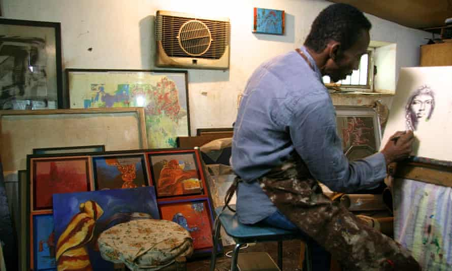 Mutaz Mohammed: 'There is simply no art market [here]'