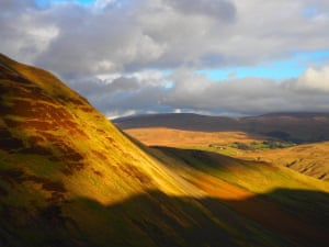 """Howgills view""""Beautiful and remote, the scenery near Cautley Spout, the highest waterfall in England, is stunning."""""""