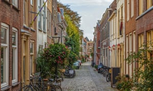 The golden age: historic Leiden, where Rembrandt was born and raised.