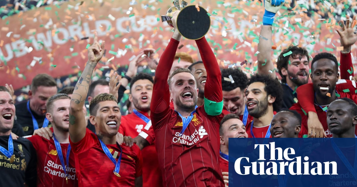 Champions of the world: Liverpool savour Club World Cup triumph –video