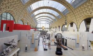 Part of the Musee d'Orsay in Paris.