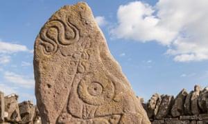 Pictish symbol stone at Aberlemno.