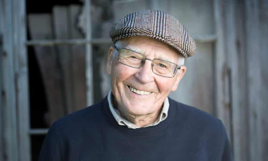 James Lovelock pictured near his home on the Dorset coast in September 2016