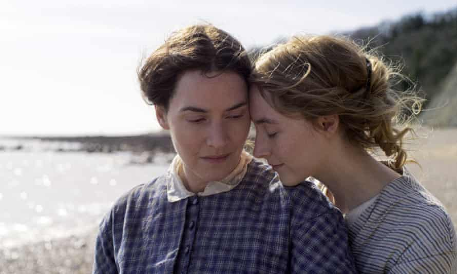 Fossil hunters … Kate Winslet and Saoirse Ronan.
