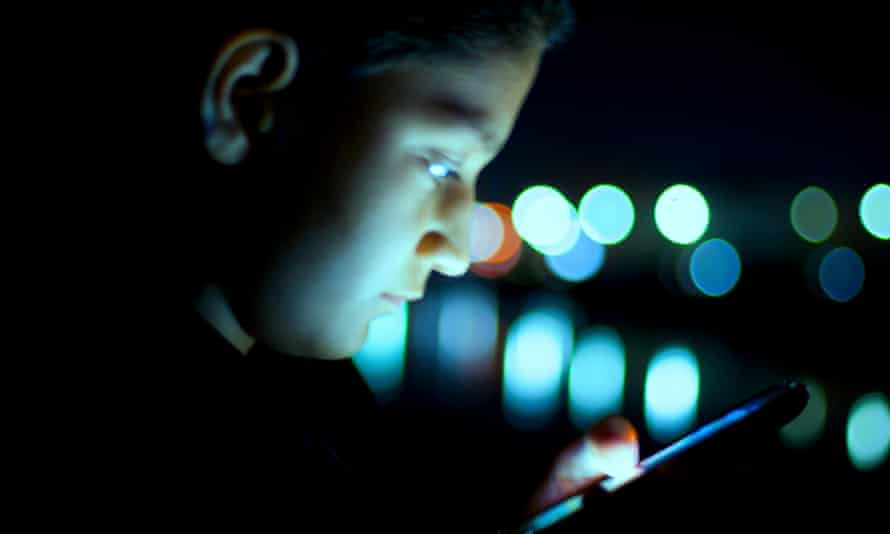 Using cell phone constantly in the dark caused temporary blindness in two women according to doctors.