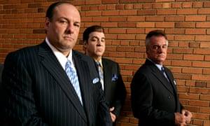Mob rules: James Gandolfini, left, Steven Van Zandt and Tony Sirico in the Sopranos