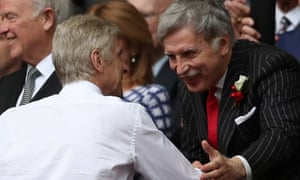 Stan Kroenke and Wenger at last year's FA Cup final