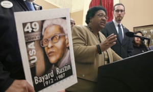 Assemblywoman Shirley Weber and state senator Scott Wiener previously called on Gavin Newsom to posthumously pardon civil rights leader Bayard Rustin.