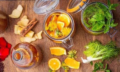 How to use kitchen scraps to flavour kombucha