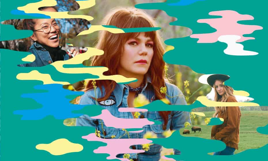 From left: a Miss Grass ad; Jenny Lewis; Margo Price.